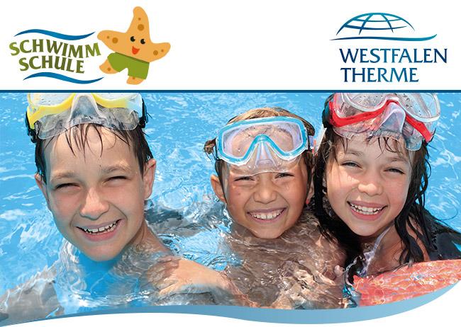 Freie Kurse in der Schwimmschule der Westfalen-Therme